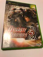 😍 boitier boite vide jeu pal fr xbox 1 ere generation dinasty warriors 5