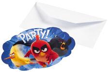 Angry Birds Party Einladungen zum Kinofilm Kindergeburtstag Deko Dekoration