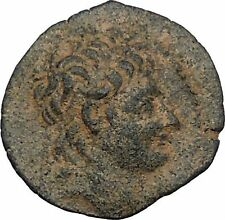 SELEUKID KINGDOM Alexander II Zabinas 128BC Ancient Greek Coin Dionysus i45092