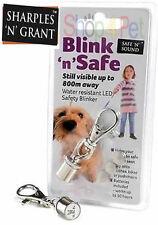 Blink 'n' Safe LED FLASHING LIGHT SAFETY BLINKER 4 DOG COLLARS, WATER RESISTANT