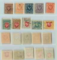 Lithuania 🇱🇹 1919 SC 40-49 mint or used wmk 145 . rt5528