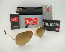 Authentic Ray-Ban Aviator Gold Frame Brown Gradient Polarized RB3025 001/M2 58mm