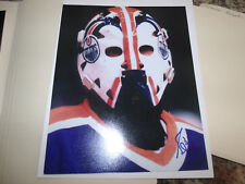 GRANT FUNR HAND SIGNED COLOR 8X10 PHOTO NHL STAR EDMONTON OILERS C