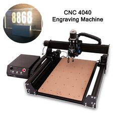 Cnc 4040 Router Engraver Desktop Wood Engraving Machine Air Cooled Spindle 400w