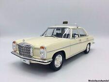 MCG NEW 1/18 Mercedes 220 (W115), beige, Taxi, 1973
