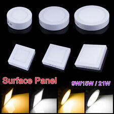 1/10pc x Dimmable 9W 15W 21W Surface Mount LED Ceiling Down Light Panel Lamp EFO