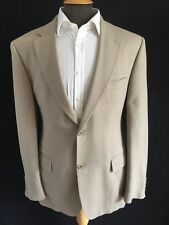 Hugo Boss Blazer Jacket, Beige, Size 42R, RRP £299 *Virgin Wool/Linen*
