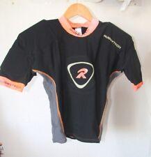 Original Maillot RUGBYTECH shoulder pro - taille L noir orange neuf