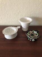 Vintage tea strainer 2 Set Plus Extra