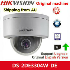 AU STOCK Hikvision DS-2DE3304W-DE 3MP DWDR Network P&P Mini PTZ Dome Camera POE