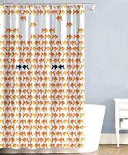 Splash Bath Shower Curtain Peva Vinyl - Tryst Orange Fish Sea 70 x 72 Nip New