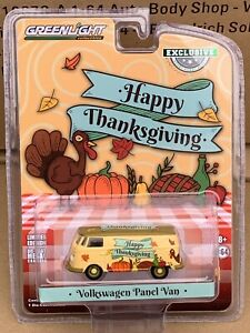 Greenlight Hobby Exclusive Volkswagen Panel Van 2020  Thanksgiving