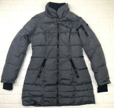 Nautica Women's Jacket Quilted Puffer Style Coat Gray M Winter No Hood
