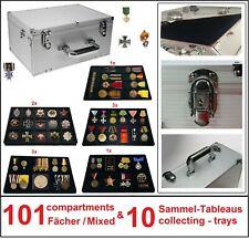 Look collector case Gigant Black Mix Militaria 10 Tableaux 101