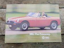 MG SALES BROCHURE MIDGET MGB MGT GT