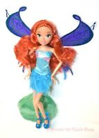 Winx Doll Bloom Friend Poseable Fairy Doll Jointed Flying Fairy Flutter Wings