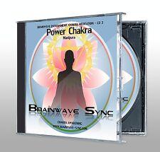 CHAKRA Meditation Energy Balance Healing CD SOLAR PLEXUS / POWER / Manipura