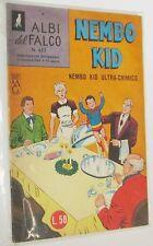 ALBI DEL FALCO n. 452 - NEMBO KID - NEMBO KID ULTRA-CHIMICO - (1964)