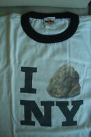 HRC Hard Rock Cafe New York White Shirt Tee Size L XL-Fotos