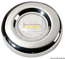 LED White Navigation Light Stainless Steel Case Stern 135 degrees  20m NAVSEA135