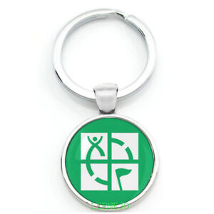 Key Ring Geocaching groundspeak Gift Take Home Logo Ftf Swag