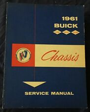 AM397 1961 Buick Chassis Service Manual
