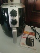 Gourmia GAF375 Air Fryer /Oil-Free Healthy Cooking / 4.5-Quart Capacity / Adjus
