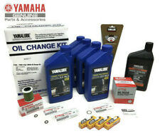 YAMAHA 2006+ F150 F150B Oil Change Gear Lube Gasket Spark Plugs Maintenance Kit