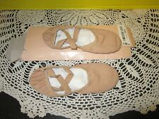 Bloch Performa Canvas Ballet Shoes Split Sole S0284L Elastic Pink Size 3C NEW