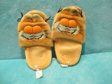 VINTAGE Garfield - Retro Soft Plush Toy Sliders Slides Slippers SIZE M (7-8)