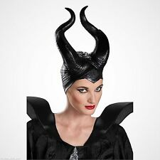 Disguise Women's Disney Maleficent Movie Maleficent Deluxe Costume Horns Black