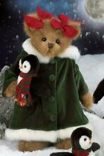 Bearington Shannon and Shivers Plush Christmas Bear 14 Inches and Retired