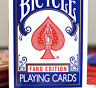 Limited Edition Bicycle Faro (Blue) Playing Cards - LIMITED