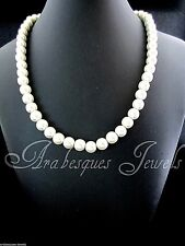 """LOVELY LADIES MAGNETIC """"IVORY PEARL"""" NECKLACE FOR ARTHRITIS/PAIN RELIEF AJMB"""