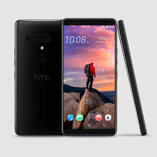 "HTC U12+ Plus 4G 6"" Black 6GB+128GB Dual12MP+16MP OctaCore IP68 Phone By FedEx"