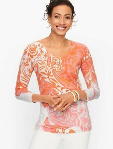 TALBOTS Sweater Size M, New Arrival, New W/ $89.50 TAG