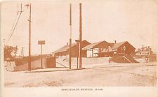 Roslindale MA Railroad Station Train Depot Postcard