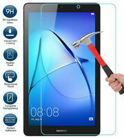 """Genuine Tempered Glass 9H For Huawei MediaPad T3 10""""  7"""", T5 10 Screen Protector"""