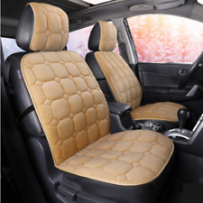 Winter Short Plush Car Seat Cover Cushion 2PCS Fit for Car SUV Truck Accessories