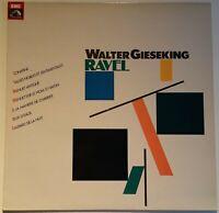Ravel Sonatine Valses Menuet Antique Gaspard de la Nuit Walter Gieseking EMI