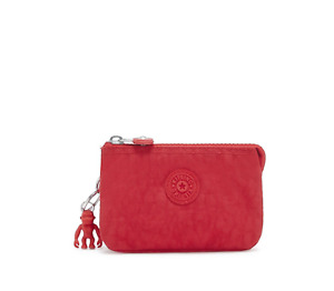 Kipling Small Pouch Creativity S Purse Cosmetic Case RED ROUGE  RRP £23