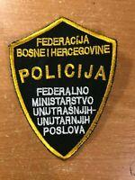 BOSNIA AND HERZEGOVINA PATCH POLICE POLICIJA  - ORIGINAL!
