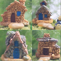 1 ×Stone House Fairy Garden Miniature Craft Micro Landscape Decoration RanODFS