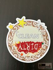 """Dishwasher Clean or Dirty magnet (2.8""""x3"""")"""