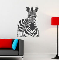 Zebra African Wall Sticker Art Vinyl Transfer
