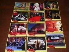 DICK TRACY GLOSSY COLOR LOBBY CARD SET Of 12 W BEATTY, ROGER RABBIT, MADONNA