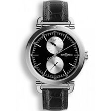 bell ross leather strap adult wristwatches ebay. Black Bedroom Furniture Sets. Home Design Ideas