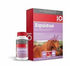 Horse Wormer IO Equiduo Liquid 250ml EQUIV to UltraMax 1/2 The of Paste