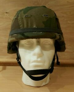 Military PASGT Ballistic Combat Helmet M-2 - With Chin-Strap kit