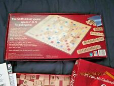 Hasbro Scrabble Crossword Game  1999
